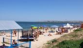 Центральный пляж Щелкино