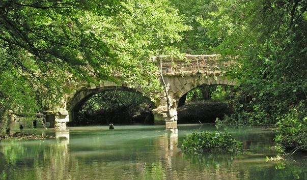 Чоргуньский мост-акведук на реке Чёрная