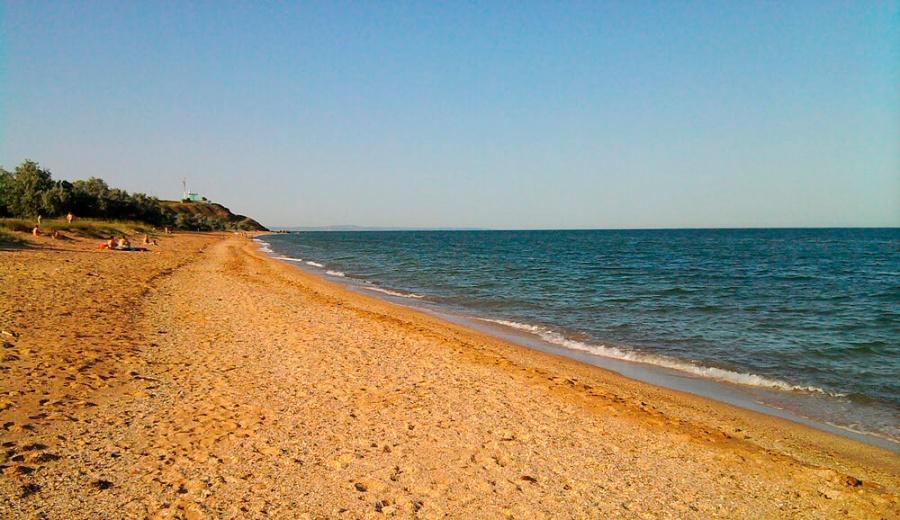 Пляж в Героевском