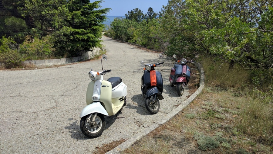 Аренда скутеров в Кастрополе